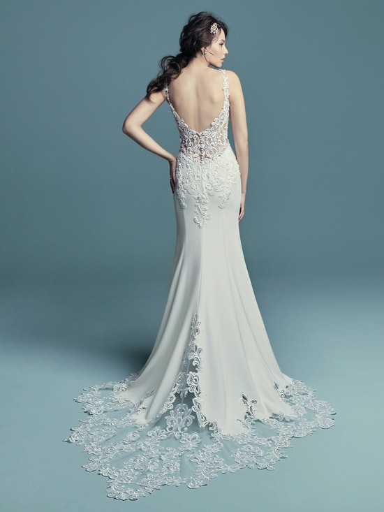 Alaina (8MC734) sexy wedding dress by Maggie Sottero