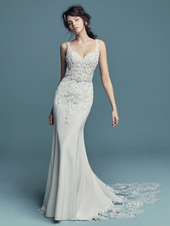 Alaina (8MC734) sexy wedding dress by Maggie Sottero
