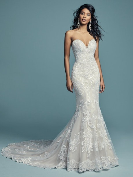 Luanne (Curve) (CRV-8MS799) ace Wedding Dress by Maggie Sottero