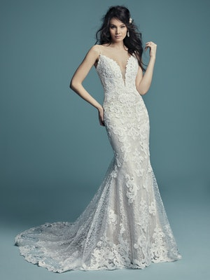 Tuscany (8MS794) Sexy Lace Wedding Dress by Maggie Sottero
