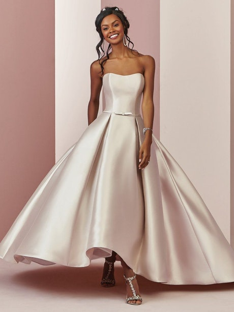 Erica (8RN684) Simple Wedding Dress by Rebecca Ingram
