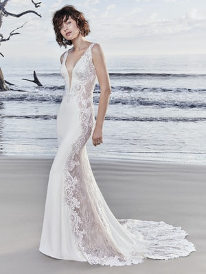 Bradford Rose (8SS777MC) sexy wedding dress by Sottero and Midgley