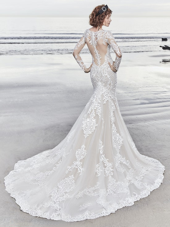 Dakota Rose (8SC761MC) Sleeve Lace Wedding Dress by Sottero and Midgley