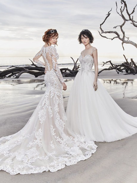 Dakota Rose (8SC761MC) Sleeve Lace Wedding Dress by Sottero and Midgley