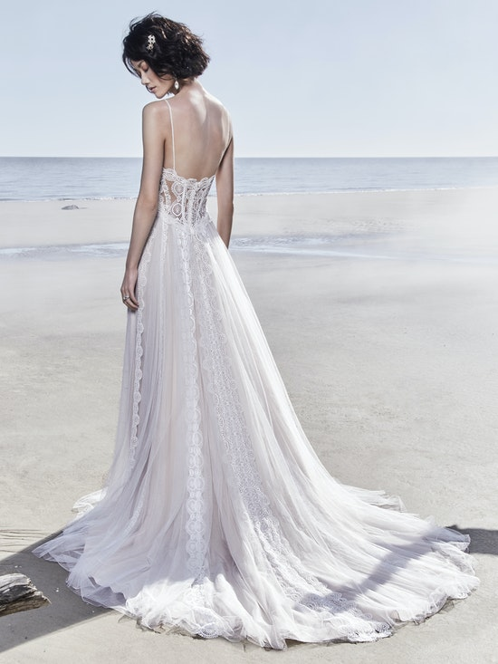 Olson (8SW776) Rustic Lace Wedding Dress by Sottero and Midgley