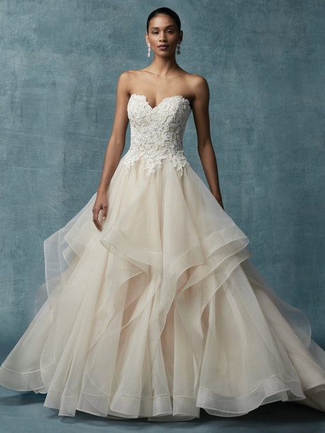 Anastasia (Curve) (CRV-9MC012) Ballgown Wedding Dress by Maggie Sottero