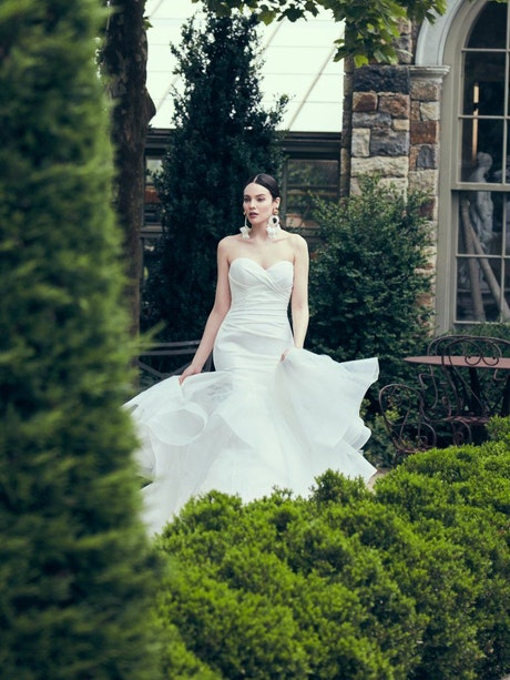 Jacqueline (9MC118) Simple Wedding Dress by Maggie Sottero