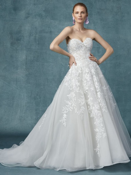 Kathleen (9MS132) Wedding Dress by Maggie Sottero