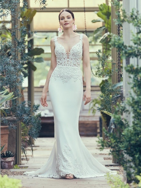 Kelsey (9MS119) Beach Wedding Dress By Maggie Sottero