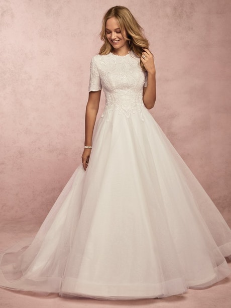 Ardelle Leigh (9RS064MC) Vintage Wedding Dress by Rebecca Ingram