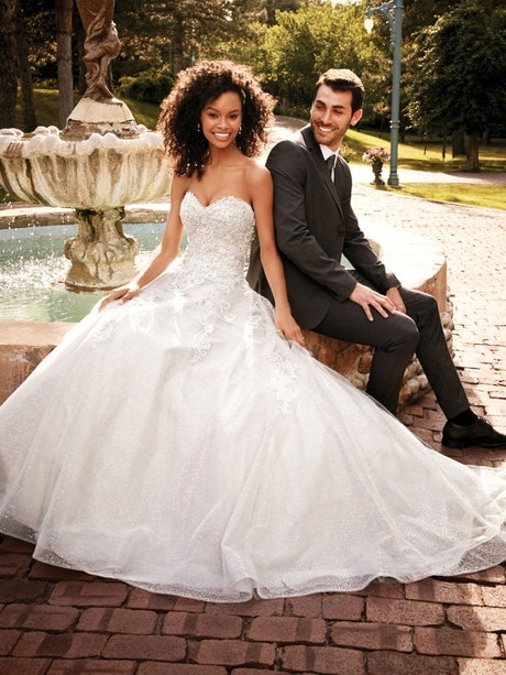 Honor (9RC019) Lace Ballgown Wedding Dress by Rebecca Ingram