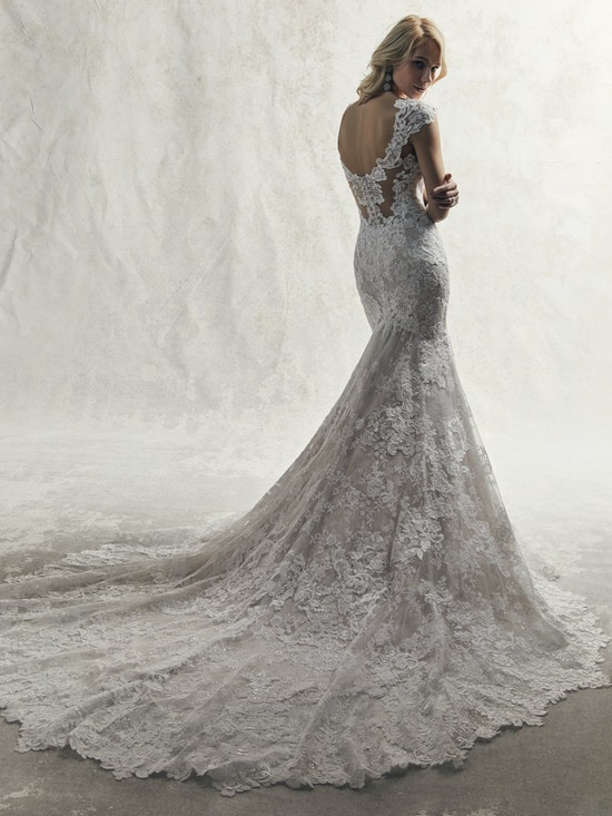 Chauncey (9SC035) Low Back Sexy Wedding Dress by Sottero and Midgley