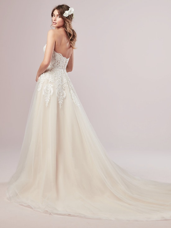 Vanessa (Curve) (CRV-9RS806ZU) s A Line Princess Wedding Dress by Rebecca Ingram