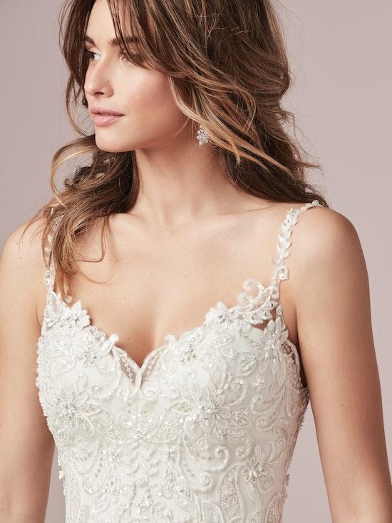 Sylvia (9RC813) Lace Ballgown Wedding Dress by Rebecca Ingram