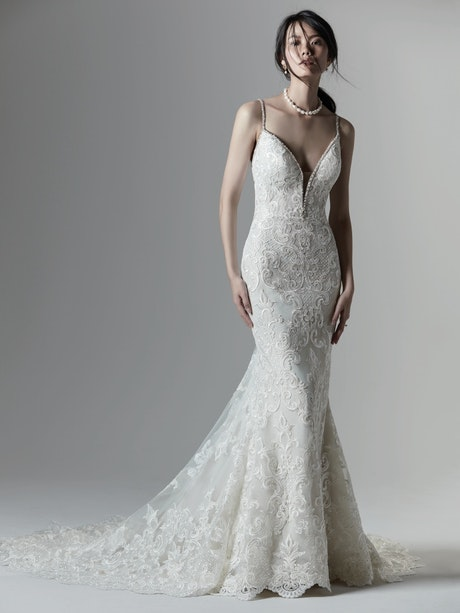 Christina (9SS918) Unique Backless Wedding Dress by Sottero and Midgley