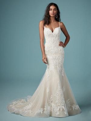Glorietta (9MC882) Rustic Lace Wedding Dress by Maggie Sottero