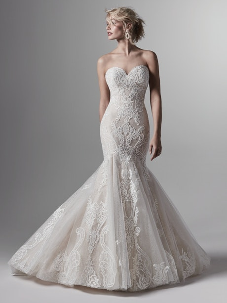 Kane (9SW851) Lace Mermaid Wedding Dress by Sottero and Midgley