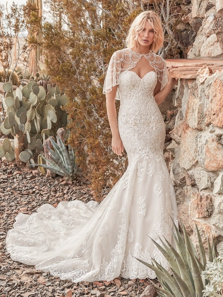 Koda (9SN809) Mermaid Lace Wedding Dress by Sottero and Midgley