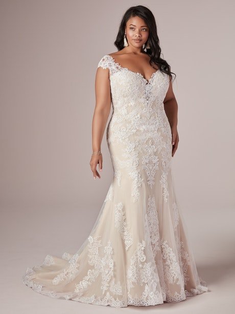 Daphne-Lynette (20RC182AC) Wedding Dress by Rebecca Ingram
