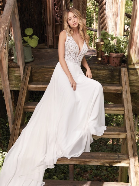 Gabriella (20RT177) Wedding Dress by Rebecca Ingram