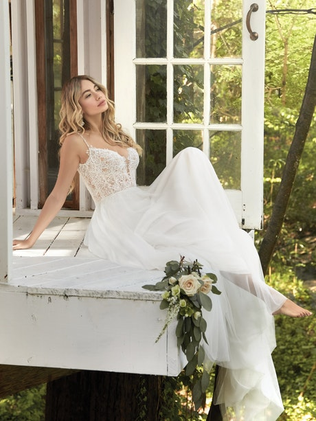 Greta (20RC231) Wedding Dress by Rebecca Ingram