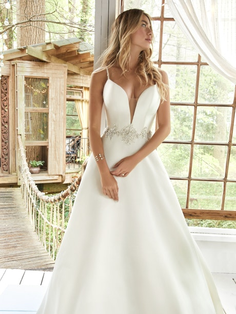 Yara (20RS224) Wedding Dress by Rebecca Ingram