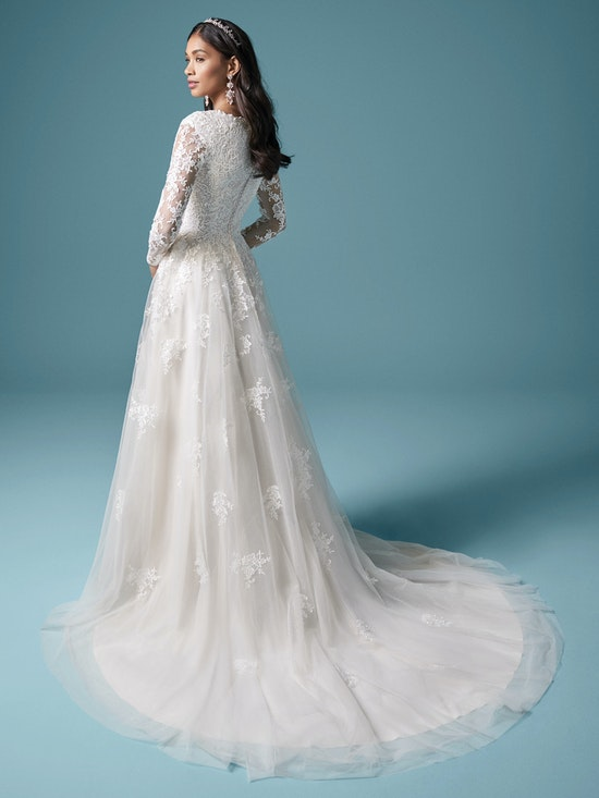 Maggie Sottero Warren 20MS682 Back