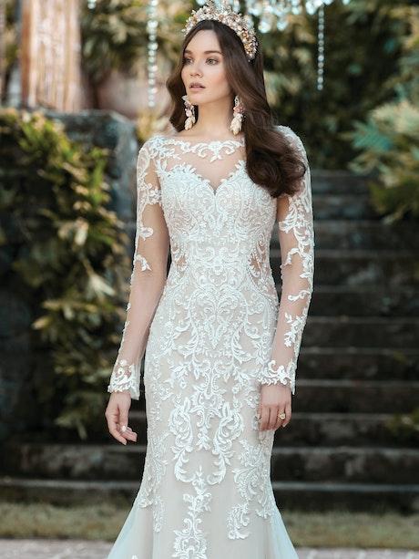 Maggie Sottero Wedding Dress Lydia-Anne 20MS697LT promo4