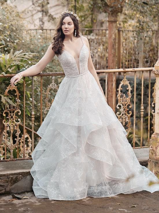 Maggie Sottero Wedding Dress Tavi 20MT640 promo5