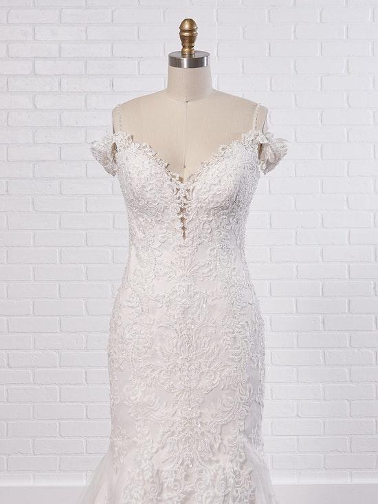 Maggie Sottero Wedding Dress Della 8MC750 Color1