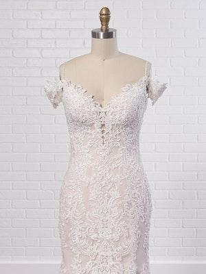 Maggie Sottero Wedding Dress Della 8MC750 Color2